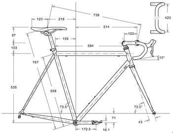 Road Bike Frame Diagram Simple Wiring Diagram Site