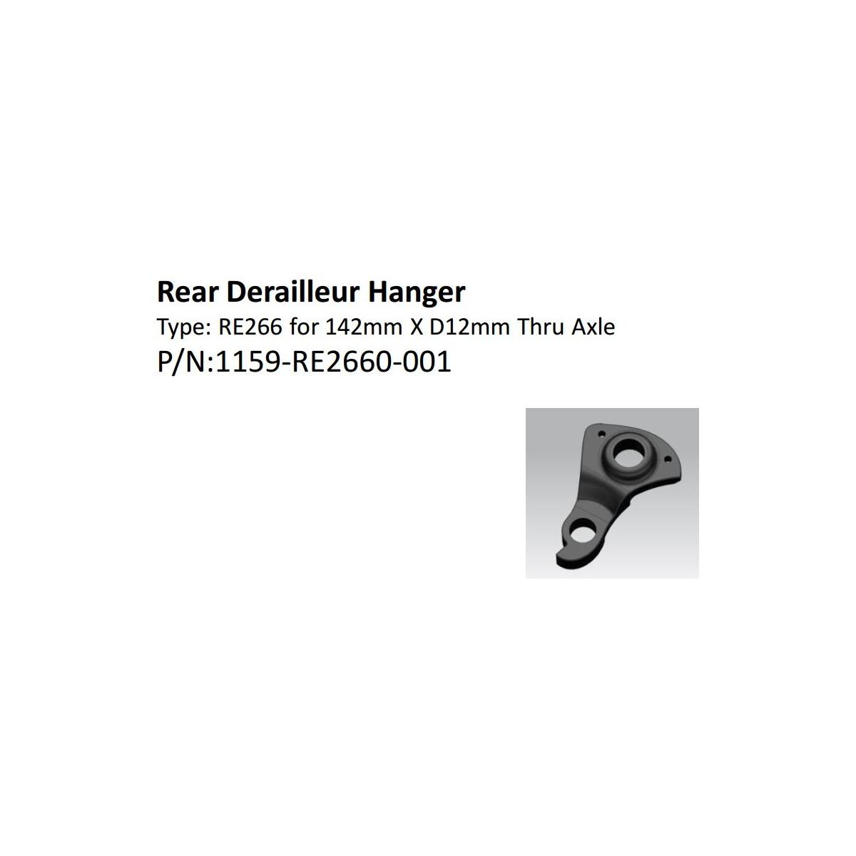 Giant TCR DEFY Advanced Pro Disc 2017 Hanger dropout black thru derailleur