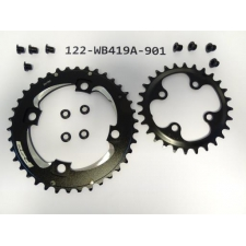 Giant FSA Chainrings 38/28ST ALLOY/STEEL, 122-WB419A-9...