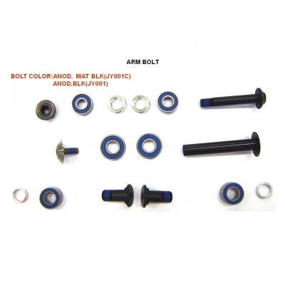 Giant Anthem 2016 Rock Arm Bolt Kit, Shock GS8018, 1280GS801806B5