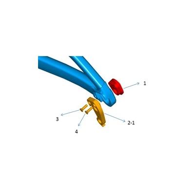 Giant Trance Rear Derailleur Hanger, 1280GS804Y07D2 / 1280GS804Y07C4