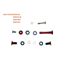 Giant  GS8343 Rock Arm Bolt Set (Trance X), Black, 128...