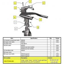 Giant Trinity Advanced Pro Stem High Position (Triathl...