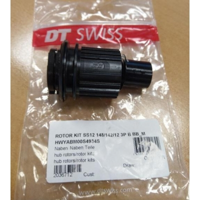 DT Swiss Freehub Body Shimano for 3-Pawl Hubs, 147O-DT360M-704