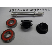 Giant Front Hub Axle Service Kit for SL1 Disc Wheel, 1...