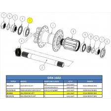 Giant Rear Hub Hollow Axle for PR-2 Disc Wheel (Part 2)