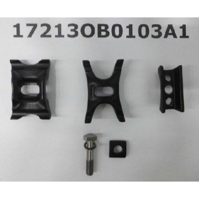 Giant Seat Clamp and Bolt Set for Trinity Composite (~2014) ,17213OB0103A1