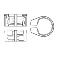 Giant D-Fuse Seat Clamp, DFSC01-501