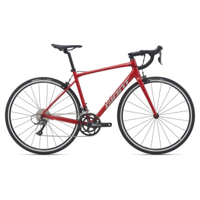 Giant Contend 2 Road Bike, Racing Red 2021