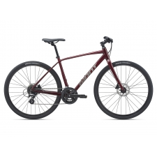 Giant Escape 2 Disc Hybrid Bike, Garnet 2021