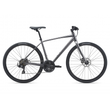 Giant Escape 3 Disc Hybrid Bike, Metallic Black 2021