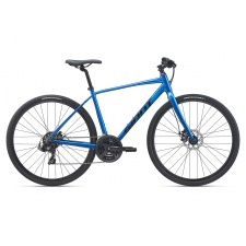Giant Escape 3 Disc Hybrid Bike, Metallic Blue 2021