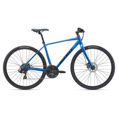 Giant Escape 3 Disc Hybrid Bike, Metallic Blue 2021