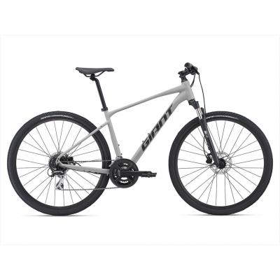 Giant Roam 3 Disc All-terrain Hybrid Bike, Concrete 2021
