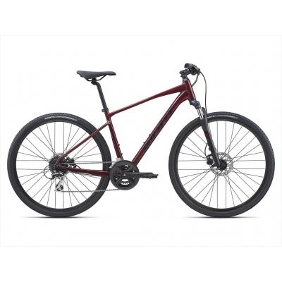 Giant Roam 3 Disc All-terrain Hybrid Bike, Garnet 2021