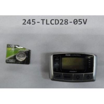 Giant Ride Control 700C LCD/LED Display, 26V Single 5Pin, 245-TLCD28-05V