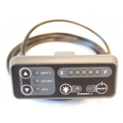 Giant Twist Comfort CS Lite, LCD Ride Control Buttons,  245-TLLED-03V