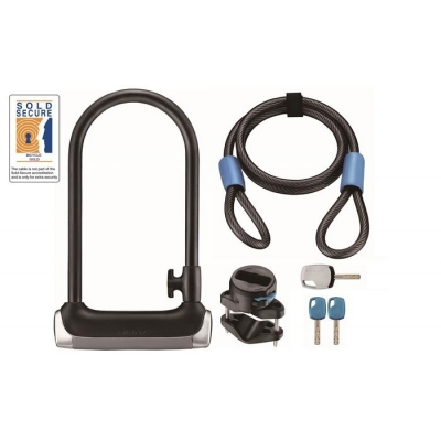 Giant Surelock Protector 1 DT, D-Lock with additional Cable Lock
