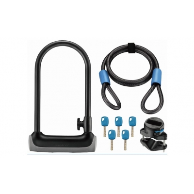Giant Surelock Protector 2 DT, D-Lock with additional Cable Lock