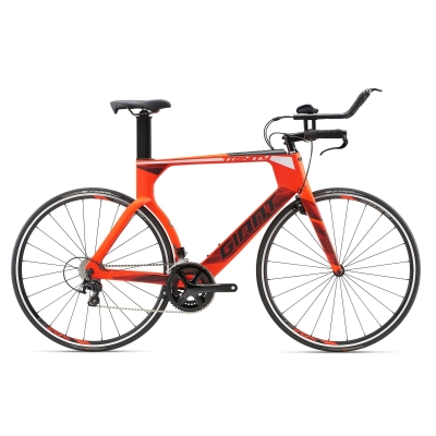 Giant Trinity Advanced Carbon Triathlon / Time Trial Bike 2018