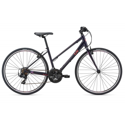 Liv/Giant Alight 3 Women's Road Hybrid Bike (Purple) 2018