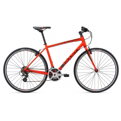 Giant Escape 3 Road Hybrid Bike (Red) 2018