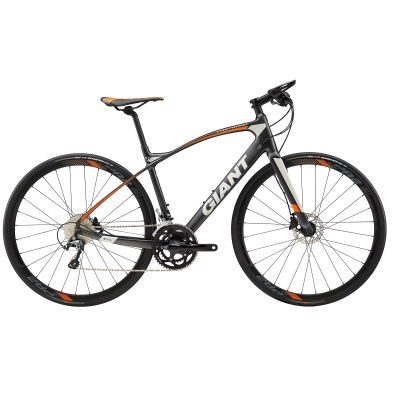 Giant  FastRoad CoMax 2 Carbon Flat Bar Road Bike 2018