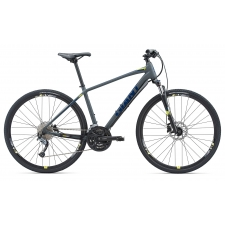 Giant Roam 2 Disc All-terrain Hybrid Bike (Grey/Yellow...