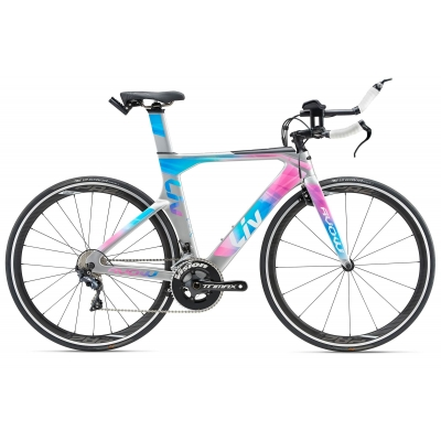 Liv/Giant Avow Advanced Women's Carbon Triathlon / Time Trial Bike 2018