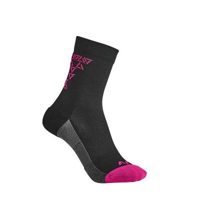 Liv Energize Socks, Black/Virtual Pink