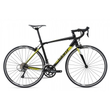 Giant Contend 2 Road Bike (Black/Yellow) 2018