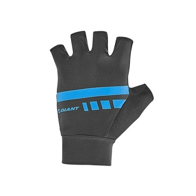 Giant Podium Gel Fingerless Gloves, 2018, Black and Blue