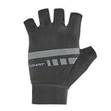 Giant Podium Gel Fingerless Gloves, 2018, Black and Gr...
