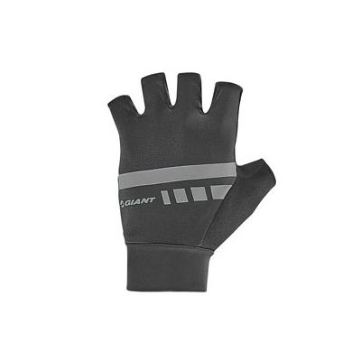 Giant Podium Gel Fingerless Gloves, 2018, Black and Grey