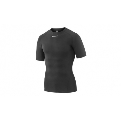 Giant 3D Short Sleeve Base Layer, Black