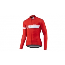 Giant Podium Thermal Long Sleeve Jersey, 2017, Red and...