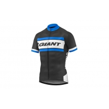 Giant Rival Short Sleeve Jersey, 2017, Black and Blue