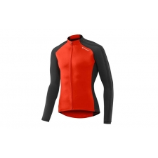 Giant Tour Thermal Long Sleeve Jersey, 2017, Red and B...