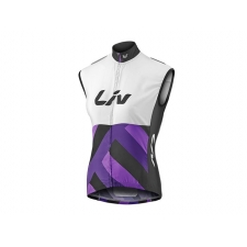 Liv Race Day Womens Gilet / Wind Vest, 2017, White and...