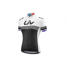 Liv 2018 Beliv Short Sleeve Jersey, Black/White