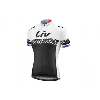 Liv 2018 Beliv Short Sleeve Jersey, Black/White