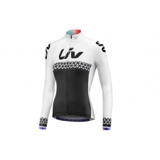 Liv 2018 Beliv Long Sleeve Jersey, Black/White