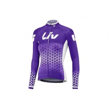 Liv 2018 Beliv Long Sleeve Jersey, Purple/White
