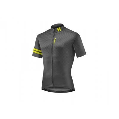 Giant 2018 Podium Jersey Black/Yellow (Short Sleeve)