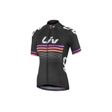 Liv Race Day Women's Short Sleeve Jersey, 2018, Black