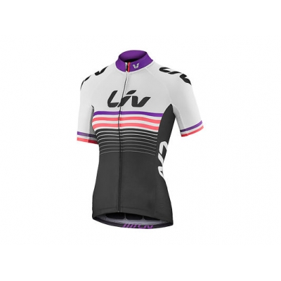 Liv Race Day Women's Short Sleeve Jersey, 2018, White