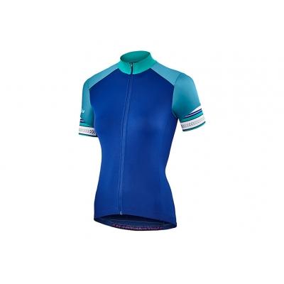 Liv Legenda Short Sleeve Jersey, Blue/Teal