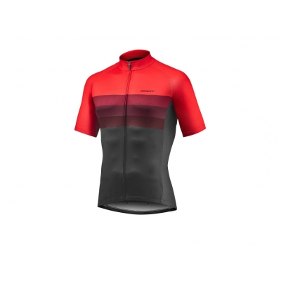 Giant Rival Short Sleeve Jersey, Red/Black