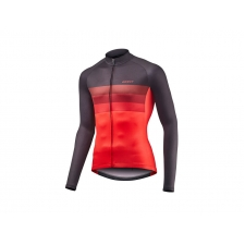 Giant Rival Short Long Jersey, Black/Red