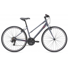 Liv/Giant Alight 3 Women's Hybrid Bike, Charcoal 2019